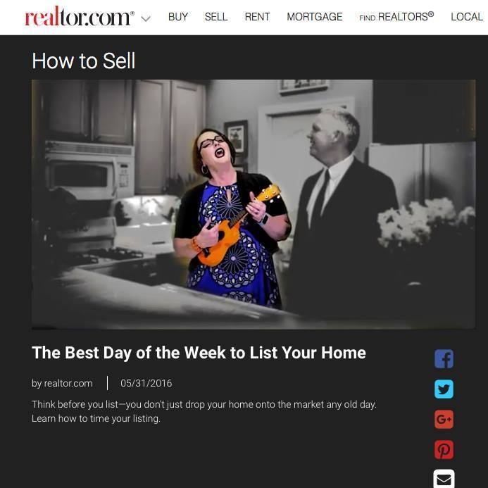 best day of the week to sell your home