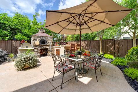 backyard outdoor kitchen 5850 pebble creek rocklin