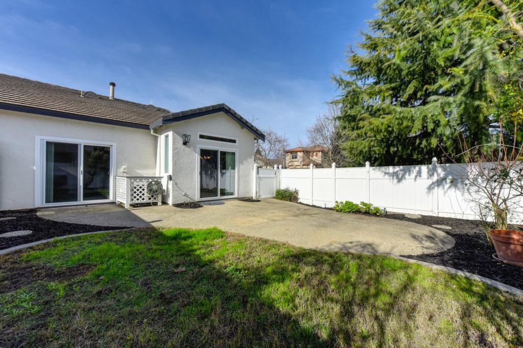 Home for Sale 1733 Atwell Exterior - View Master Slider + Kitchen Slider