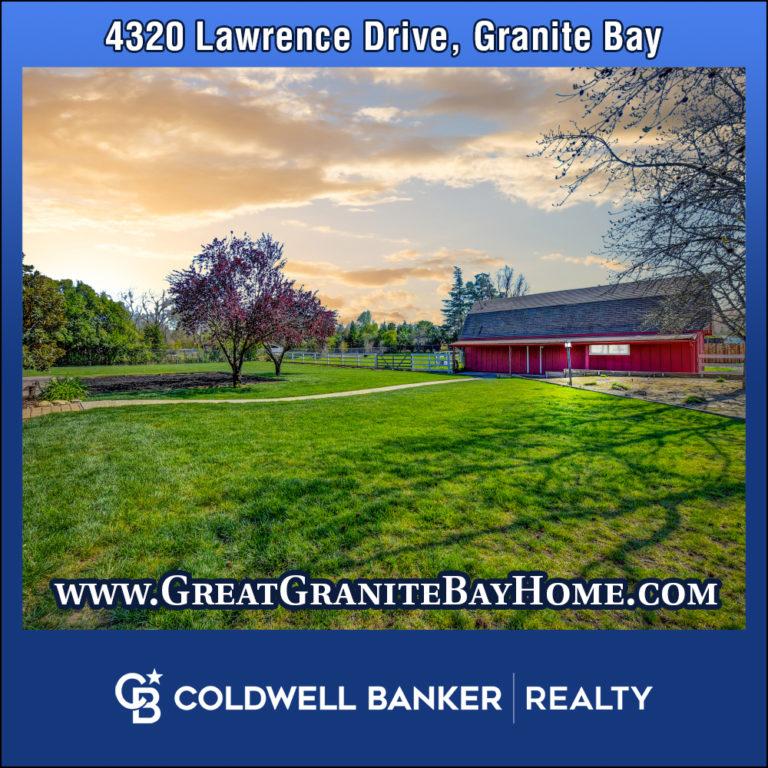 4320 Lawrence Drive Granite Bay